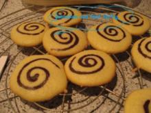 Weihnachtsbäckerei - Schokospiralen - Rezept