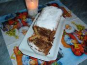 Kuchen weihnachtlich  mit Nuss Nougat - Rezept