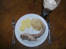 Fleisch: Schweineschwänzchen gekocht - Rezept