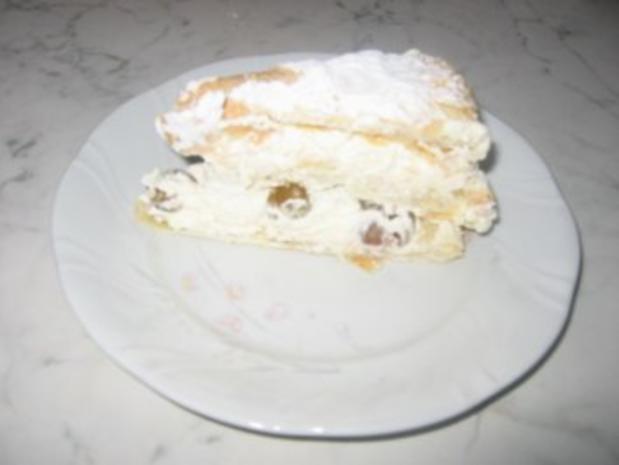 Trauben-Torte mit Blätterteig - Rezept - Bild Nr. 6