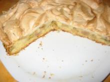 Traubenkuchen mit Baiserhaube - Rezept