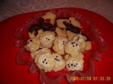 Weihnachtsbäckerei:: Weiße Pfeffernüsse ergibt Ca. 60 Stück - Rezept