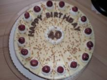 Geburtstags-Eierlikör-Torte - Rezept