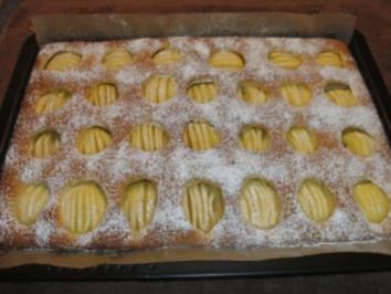 Versunkene Apfeltorte - Rezept