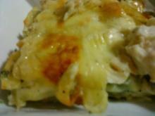 Brokkoli-Champignon-Hühnchen Lasagne - Rezept
