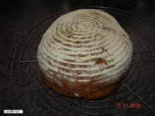 Brot + Brötchen : Rustikales Landbrot - Rezept