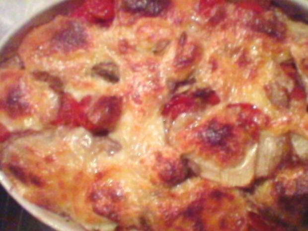 Chicorées gratiniert mit Tomaten und Mozzarella - Rezept - Bild Nr. 3