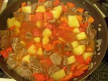 Kochen: Paprika-Gulasch-Pfanne - Rezept