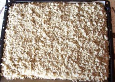 Backen: Apfelkuchen mit Hanf-Streusel - Rezept