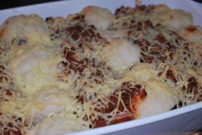 Bolognese-Blumenkohl-Kartoffel-Auflauf - Rezept