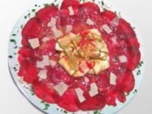 Rote Beete Carpaccio - Rezept