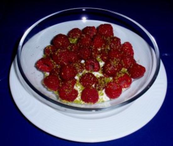 Himbeeren auf Joghurt - Rezept - Bild Nr. 2
