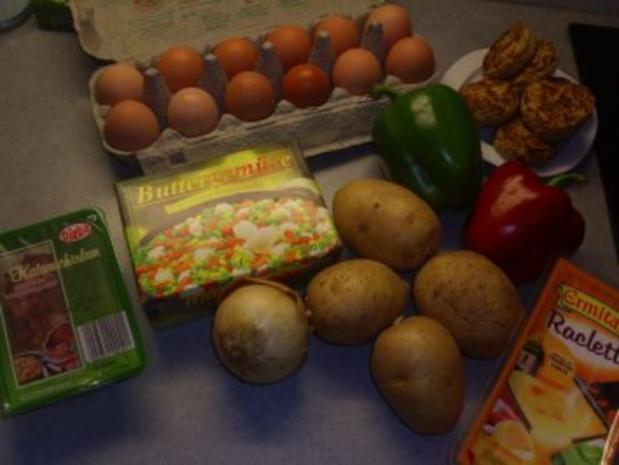 Aufläufe: Gemüse mit Raclettekäse überbacken - Rezept - Bild Nr. 2