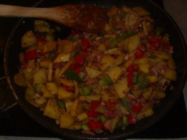 Aufläufe: Gemüse mit Raclettekäse überbacken - Rezept - Bild Nr. 3