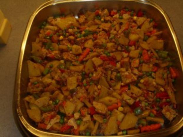Aufläufe: Gemüse mit Raclettekäse überbacken - Rezept - Bild Nr. 4