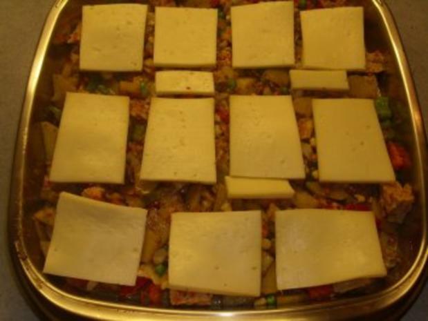 Aufläufe: Gemüse mit Raclettekäse überbacken - Rezept - Bild Nr. 6