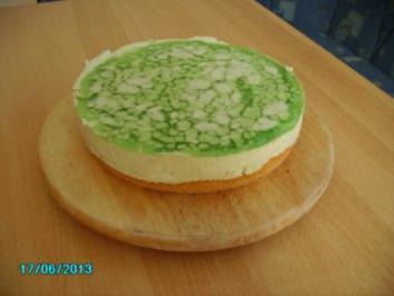 Rezept: Mai-Torte mit Waldmeister