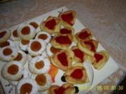 Weihnachtsbäckerei:: Engelsaugen ergibt ca. 30 Stück - Rezept
