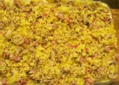 Auflauf Kartoffel Pilz Auflauf Rezept Kochbarde