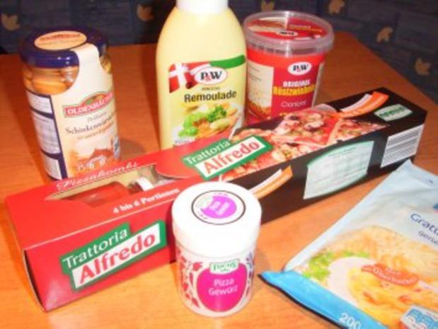 Hot Dog-Pizza... auf die Schnelle - Rezept - Bild Nr. 2