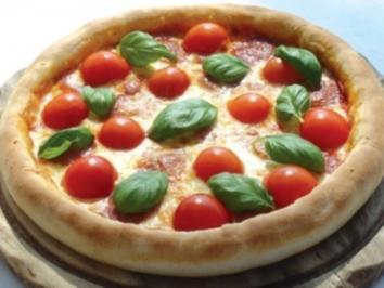 Rezept: Hanf-Pizza