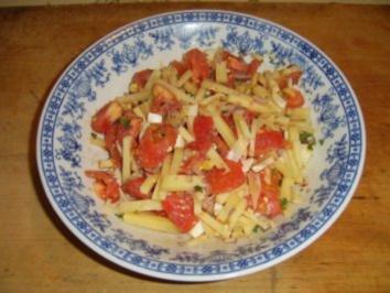 Tomatensalat mit Almkäse - Rezept