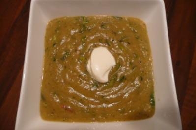 Zucchini-Kartoffel-Suppe - Rezept