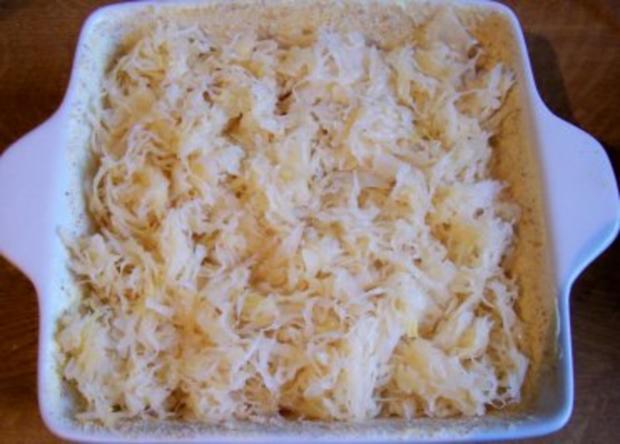Auflauf: Verstecktes Sauerkraut - Rezept - Bild Nr. 3