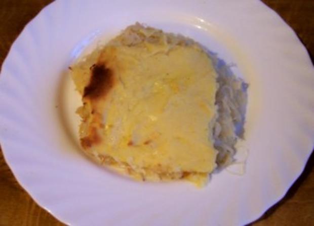 Auflauf: Verstecktes Sauerkraut - Rezept