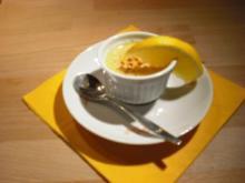 Orangen-Crème Brûlée - Rezept