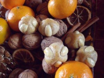 Weihnachtsplätzchen: Bethmännchen - Rezept