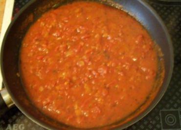 Sauce: Stückige Tomaten-Sauce - Rezept