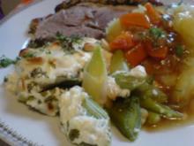 Porree-Gemüse überbacken - Rezept