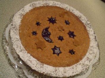 Weihnachtliche Linzer Torte - Rezept