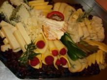 Meine Käseplatte die VIII. mit Bild - Rezept