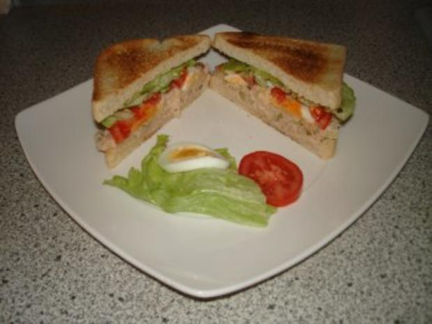 Clubsandwich mit Thunfisch - Rezept