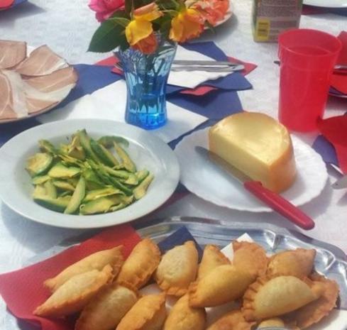 Empanadas de queso - Rezept