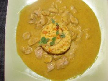 Sauce :  -Meine Curry -Sauce mit Apfel und Ananas- - Rezept