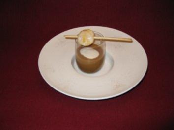 Maronensuppe mit gebratener Jakobsmuschel - Rezept