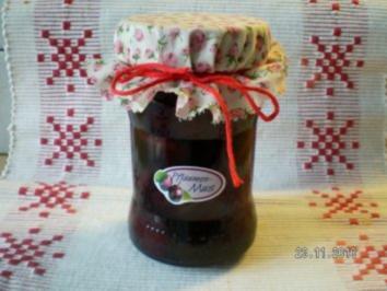 Rotweinpflaumen - Rezept