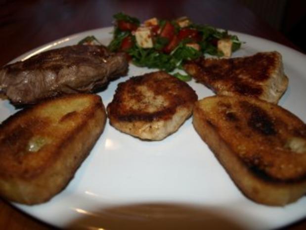 Steakpfanne - Rezept