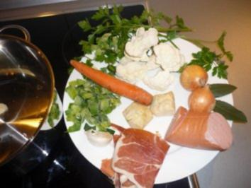 schnelle `s  Gemüsesüppchen - Rezept