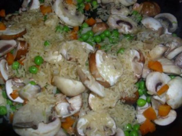 Gemüse-Pilz-Risotto - Rezept - Bild Nr. 4