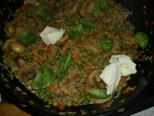 Gemüse-Pilz-Risotto - Rezept - Bild Nr. 6