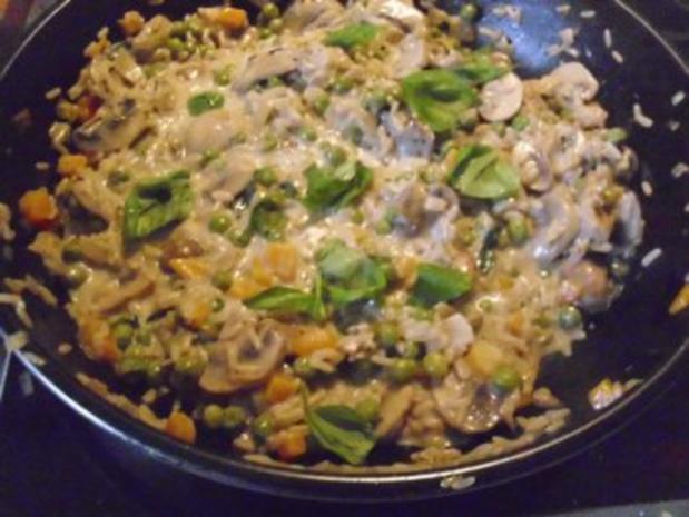 Gemüse-Pilz-Risotto - Rezept - Bild Nr. 7