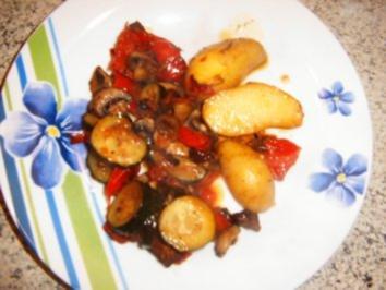 scharfes Ofengemüse - Rezept