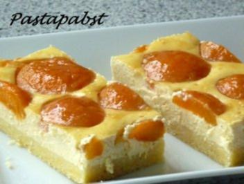 Aprikosen-Quark-Kuchen - Rezept