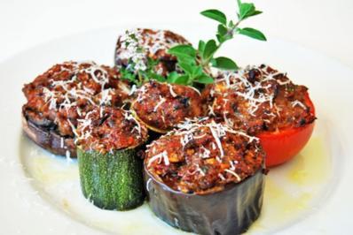 Gefülltes Gemüse mit Hackfleisch - Rezept