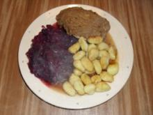 Hähnchenbrust mit Maronen - Lebkuchen - Haube - Rezept
