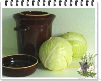 Eingemachtes - Sauerkraut selber machen - Rezept